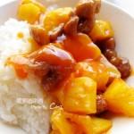 酸甜菠萝咕咾肉(小朋友喜欢的菜谱)