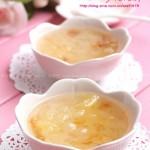 桃胶皂角米炖银耳(强力补充胶元蛋白的美容圣品)