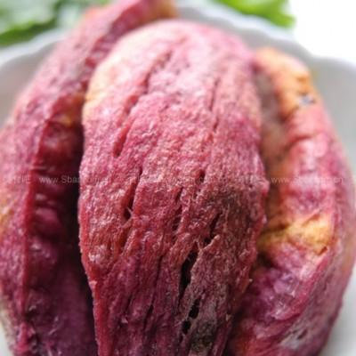 微波紫薯干