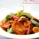 素鸡青椒肉片