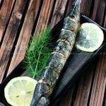 茴香烤秋刀鱼(日式美味烤秋刀鱼)