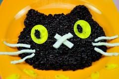 黑米猫咪饭