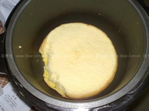 电压力锅做蛋糕的方法