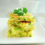 西葫芦鸡蛋饼(早餐菜谱)