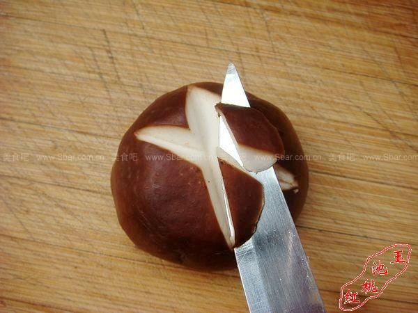 手把手教你怎么给香菇切花刀的做法【图解】_手把手教