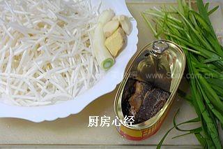 豆豉鲮鱼绿豆芽