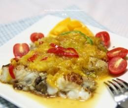 黄金芒果鳕鱼