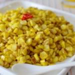 椒盐蛋黄玉米粒