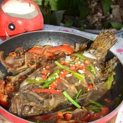 干锅臭鳜鱼