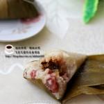 花生蜜枣粽子(如何包粽子)