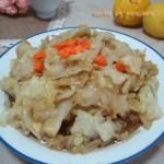 糖醋圓白菜