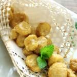 咸蛋黃焗馬蹄(飯店招牌菜在家做)