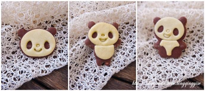 小熊卡通饼干