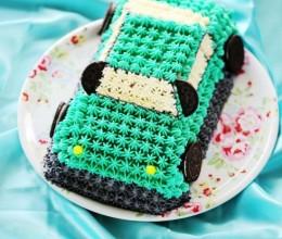 Tiffany蓝3D汽车蛋糕