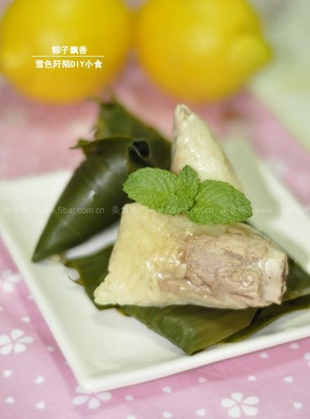 排骨蜜豆粽子