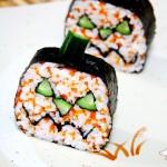 南瓜灯寿司(六一儿童节菜谱)