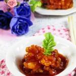 茄汁萝卜花(水果拼盘-盘饰围边)