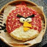 愤怒的小鸟披萨(六一儿童节菜谱)