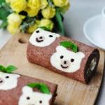 可爱小熊蛋糕卷(六一儿童节菜谱)