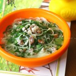 皮皮虾青菜汤面(宝宝辅食)