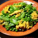 鸡蛋炒豌豆(剥豌豆去皮内膜方法)
