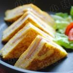 港式火腿西多士(健康早餐菜谱)