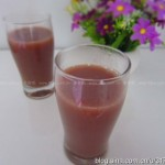 紅豆蜜棗豆漿(補血養顏)