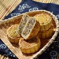 自制广式五仁月饼