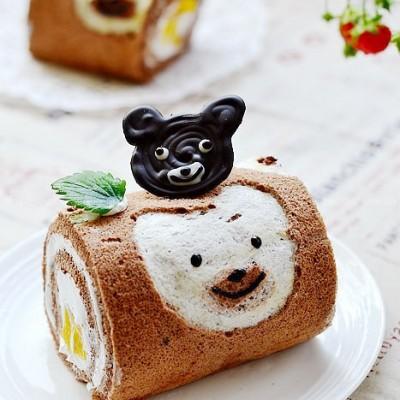 超大号双重小熊蛋糕卷