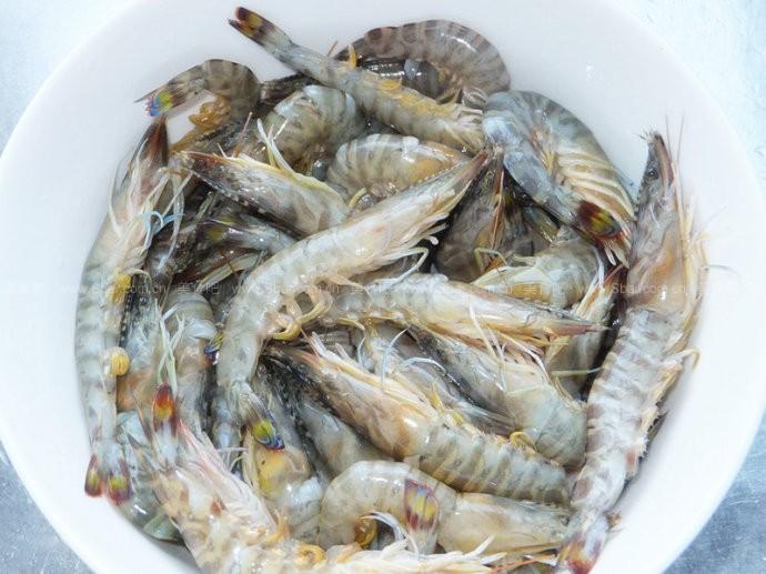 油焖基围虾