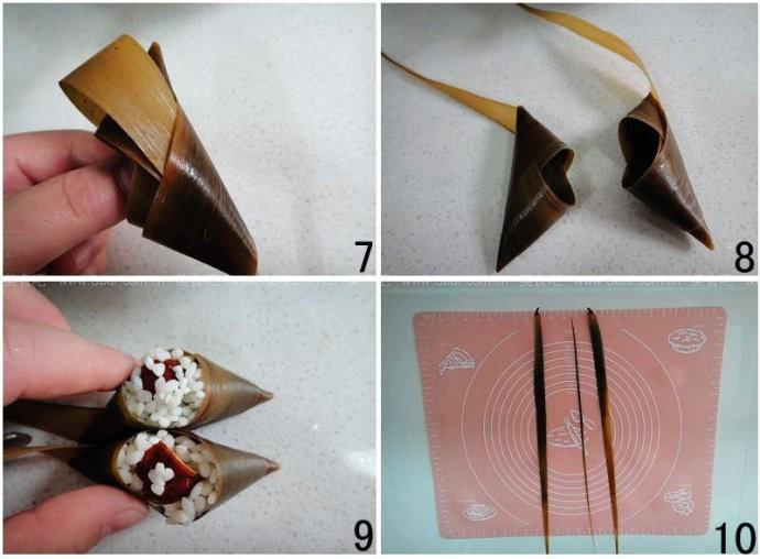 猪爪粽(传统手工粽子)的做法步骤
