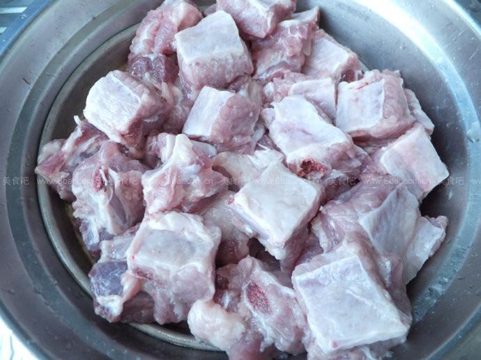 大扁豆排骨粽子