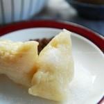 纯白粽子、豆沙粽和蜜枣粽(粽子的做法)
