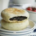 黑芝麻发面糖饼(电饼铛菜谱)