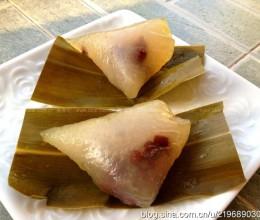 水晶蜜豆粽