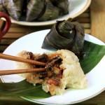 香菇红烧肉粽子(如何包粽子图解)
