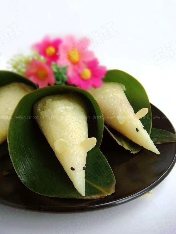 小老鼠粽(如何包粽子图解)的做法步骤