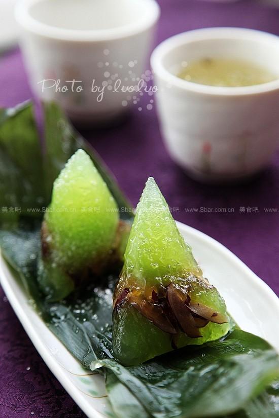 绿水晶粽(如何包粽子)的做法步骤