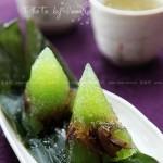 绿水晶粽(如何包粽子)