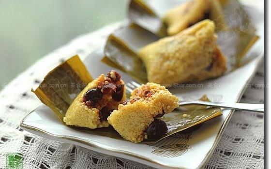 蔓越莓粽子(粽子的做法)