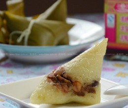 花生双豆蜜枣粽
