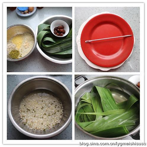 黄芪蜜枣粽