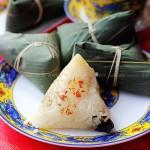 枣粽、豆沙粽、辣粽、黄米粽、蛋黄粽(如何包粽子图解)
