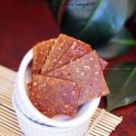 黑椒蜜汁猪肉脯(给孩子自制健康零食)