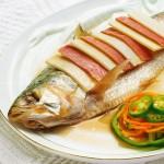 清蒸鲥鱼(中高考菜谱-补脑益智开胃)
