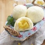 奶黄包(广式甜点-奶黄馅)