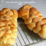 橙皮辫子面包(早餐菜谱)