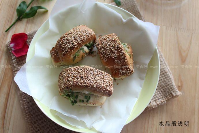 香葱芝麻烧饼