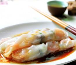 鲜虾香菇肠粉