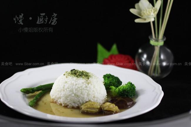 简单版叶子大餐(5分钟就搞定鲍鱼百元饭店)迷迭香的捞饭可以吃吗图片